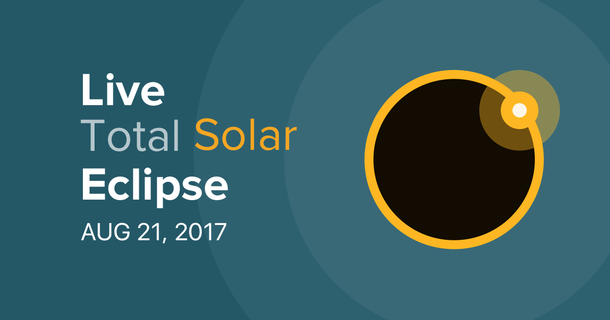 Watch live: 'Great American solar eclipse' | The Social Crawlers